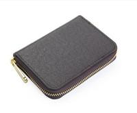 Con Box Real in pelle Zippy Portafogli verticale Il modo più elegante per portare attorno a carte money card e monete famose Design Men Borsa con portafoglio