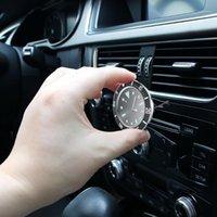 Travaux de décoration de voiture de haute qualité ornements Véhicule Auto Intérieur avec climatisation CLIPT Automobile Quartz Clock1
