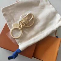 Keychain RT01A Chaveiro Chaveiro Moda Chaveiro Homens Mulheres Lembranças Saco de Carro Keychain com caixa EM641