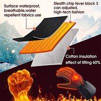 Mode Unisex beheizte Winterhandschuhe Warmhandschuh Handwärmer für Winter Outdoor Camping Wandern Sporthandschuhe USB Waschbar Hot F917 Y200110