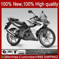 + Schwarzer Silber-Tank für Honda CBR125RR CBR 125 R CBR-125R 125cc 97HC150 CBR 125R 2002 2003 2004 2005 2006 CBR125R 02 03 04 05 06 Verkleidungsset
