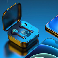 BEST TWS ES1 Беспроводной Bluetooth 5.1 Earbud Stereo Sound Спортивные наушники Цифровой дисплей IPX5 Светодиодные наушники Power Бесплатная Доставка
