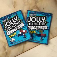 2021YB Medicated Jolly Rancher Gummies 가방 Sour 3.5G Mylar Bag 건조한 허브 플라워 edibles 포장 주머니