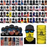 Turban US Magic Headband Flagge Schal Gadsden Cyclic1 American Bandana Staat Gesichtsmaske Flaggen National Mexico Half KFOUF