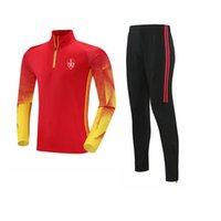 Stade Brestois 29 2021 erkek Eşofman Polyester Eğlence Ceket Futbol Forması En Eğitim Spor Suit Açık Spor Koşu Giyim