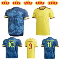 Promotion20 21 21 كولومبيا لكرة القدم جيرسي كوبا أمريكا كولومبيا لكرة القدم قميص رودريغيز camiseta مايلوت دي القدم كوادرادو الكبار لكرة القدم قميص