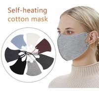 Tasarımcı Sıcak Kış Kalın Yüz Maskeleri Ayarlanabilir Kayış Moda Unisex Kadın Erkek Rüzgar Geçirmez Anti Toz Maskesi Açık Bisiklet Maskesi FY9271