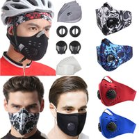 Lavável com ciclismo de filtro para face protetora de máscara ao ar livre correndo caminhadas homens mulheres gotas boca à prova d 'água poeira pm2