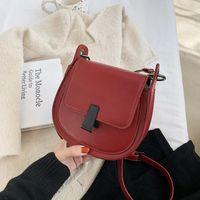 TOPOSHINE Moderne kleine kreisförmige Umhängetaschen für Frauen Mode Crossbody Bag Kleine Tasche für Frauen Runde Frauen Luxus
