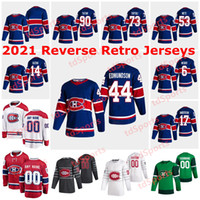 Montréal Canadiens 2021 Jerseys Retro Retro 17 Josh Anderson Jersey 44 Joel Edmundson 34 Jake Allen 31 Carey Prix 13 Max Domi Custom
