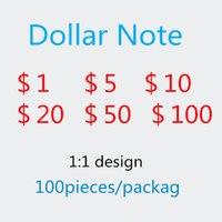 Jeu Toke Dollar Donnée Document Money The MPJMJ Monnaie Pratique Spoof Faux Simulation Hot-Selling Nouveau Comptage 77 100 hvpfl