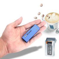 Ultra mince Compact Jet Briquet Feu gratuit Mini Mini gonflable Butane Butane Gaz Torche Torche de gaz Gadgets pour hommes Cadeau Dropshipping