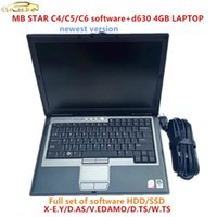 2020.12 MB Star 용 최신 전체 소프트웨어 C4 / C5 / C6 SSD / HDD 소프트웨어 D630 4GB 노트북 MB Star C51 사용 준비