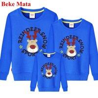 Beke Mata Família Correspondência Correspondência Doméstica Natal Mãe Mãe Filha Roupa Conjuntos Família Parecer Pai Son Son Sweater Y200713