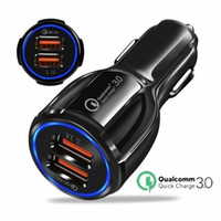 QC 3. 0 3. 1A Dual USB Fast Charging Car Charger High Speed Ad...