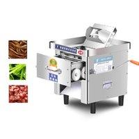Fleischschleifer kommerzielle Haushaltsschneidmaschine 850w Edelstahl Automatischer Slicer Shred Cutter
