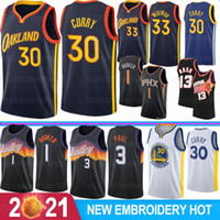 Stephen 30 Curry NCAA Men College Basketball Jerseys DeAndre 22 Ayton Devin 1 Booker Steve 13 Nash Charles 34 Barkley 2021 New Stock