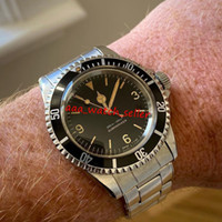 2 estilos BP Factory Vintage Luxury Mens Designer relojes Sub 5513 Gilt Maxi 369 Explorer Dial Automatic 2813 Movimiento Deporte Relojes de pulsera