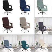 Waschbare Stuhl Back Cover Set Multi Color Home Cleaning Elastic Case Office Computers Chair Handlaufabdeckungen Heißer Verkauf 22SP G2