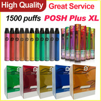 Posh Plus XL Vapes jetables Dispositif de stylo local Posh plus XL Barres XL 1500 embuffs Portable Vape Pods Cartouche VS Puff Plus