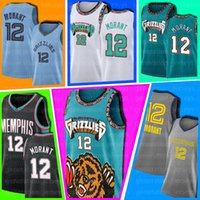 12 Ja Morant MemphisGrizzliesBaskeball Jersey Jaren 13 Jackson Jr. Jamal Nikola Murray DenverNuggetsJokic Jersey as