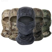 Máscara tática bandana camuflagem balaclava caça face plena máscara ao ar livre paintball camo gaiter capacete capacete liner tampão