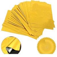 50Sheets A4 Ouro Hot Stamping Transferência Folha Laminador Laminating Laser Impressora Laser Cartão De Visita DIY Artesanato Suprimentos Jllnhb
