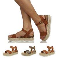اللباس أحذية النساء الصنادل السيدات الأزياء المفتوحة تو الكاحل حزام عارضة الرومانية نمط مشبك بو الصيف الإناث t9 #