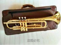Profesyonel Pirinç TR-180GS Altın Renk Küçük Müzik Aletleri Birincil Öğrenci Yeni Başlayanlar Kılıf 7C Ağızlık Ile Trompet