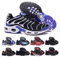 Nike air max Tn plus مجانا 2021 أعلى جودة رجل tn عارضة أحذية سلة رخيصة تطلب تنفس شبكة chaussures أوم نوير zapatillae tn الأحذية 36-46