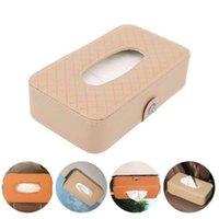 Doku Kutuları Napkins 1 ADET Araba Kutusu Havlu Setleri Güneşlik Tutucu Oto İç Saklama Çantası Dekorasyon Erişim