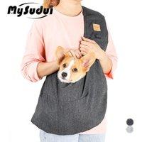 Mysudui Pet Cat Portador de perro para perros Mochila Bolsa de hombro Sling Frente Accesorios de transporte para perros pequeños Gatos al aire libre Caminar