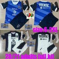 Взрослый комплект + носки 2020 мексиканский клуб Rayados de Monterrey Soccer Jersey D.PABON Full Kit R.funes Mori CamiSeta de Futbol Dearn