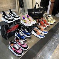 Louis Vuitton LV shoes 2021The Yeni Erkekler Paris Rahat Ayakkabılar Eğitmenler Baba Ayakkabı Sneaker Siyah Boy Erkek Bayan Beyaz En İyi Kalite Koşucu Chaussures WLGC191001