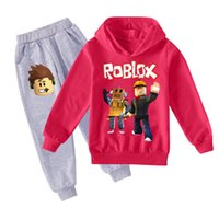 Multi Color Kids Tracksuits Dos piezas Set Boys Girls Fashion Sudaderas con capucha + Pantalones Trajes Grandes Niño Unisex Ropa Tamaño 100-170