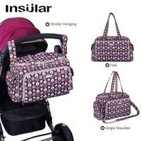 유모차에 대 한 Intular 아기 기저귀 가방 Bolsa maternidade 방수 큰 미라 가방 maternity bolsos 아기 변경 bags for mom1