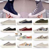 2021 Vender bem de alta qualidade Mulheres Sapatos Espadrilles Sneakers Imprimindo Sneaker Sneaker Bordado Plataforma de lona Tênis Meninas Flat Low #hj