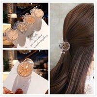 Clips de cheveux Barrettes Inspins de luxe pour femmes filles brillantes cristal mini griffe princesse style strass