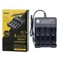 Multifonction 18650 USB Chargeur USB Slot Li-ion POWER POWER POUR 3.7V 26650 10440 16340 16650 18350 18500 Batterie de lithium rechargeable