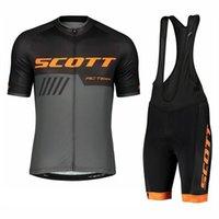 الرجال الدراجات جيرسي مجموعة سكوت فريق تنفس الصيف سباق دراجة الملابس روبا مايلوت ciclismo دراجة الرياضة موحدة S210128123