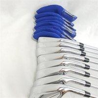 8 stücke JPX919 MP20 Set Golf geschmiedet Eisen Golfclubs 4-9PG R / S Flex Stahl / Graphitwelle mit Kopfabdeckung 201026
