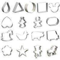 Keksschneider Formen Aluminiumlegierung Niedliche Tierform Keksform DIY Fondant Gebäck Dekorieren Backen Küchenwerkzeuge 47 L2