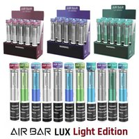 Air Bar Lux Light Edition Dispositivo Dispositivo Dispositivo Vape 3ml Pod Prefreado 1000 Puffs 650mAh Bateria Airbar Bang Pro Max XXL Flex Fume Extra