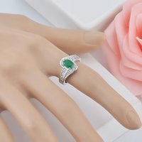 Bijoux Bague Cube Cubic Zirconia CZ Infinity Love Solitaire Promise Promesse Eternity Bague Dame Engagement Anniversary Band