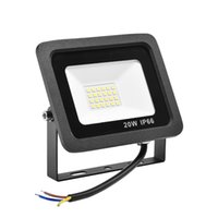 20W LED Holofllight Alta eficiência Luminosa IP65 À Prova D 'Água Garagem Luz Courtyard Light Light Light Light Branco