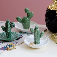 Objets décoratifs figurines style pastoral européen simple créatif cactus pont maison ornements