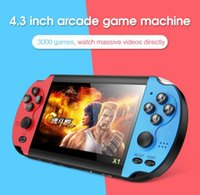 X1 Game Console Player Handheld Retro Game 4.3 inch Support mp4 Camera,Video,E-book tv out vs x7 821 kids gift