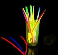 """Glow Sticks Bevical Party Party Partys - Свечение в темновой веселой партии Пакет с 8 """"светильниками и разъемами для браслетов jllhmx eatout"""