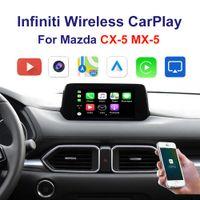 Бесплатный автомобиль Carplay интерфейс поддержки iPhone Android AUTO Youtube видео на 2014-2020 годов Mazda CX-5 MX-5