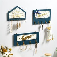 Ganchos de parede chave ganchos de parede ganchos de parede decorativo casaco gancho casa decore minimalista madeira decoração de casa acessórios 201218